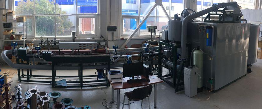 Установка поверочная вторичный эталон с расходами до 500 м3/час